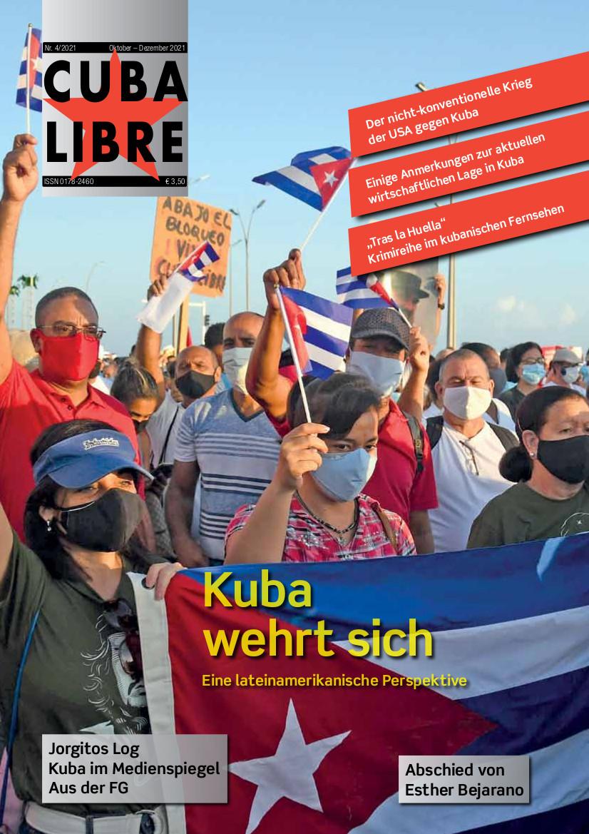 CUBA LIBRE 4-2021, Zeitschrift der Freundschaftsgesellschaft BRD-Kuba