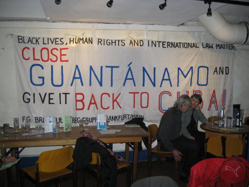 Guantánamo schließen und Rückgabe an Kuba!