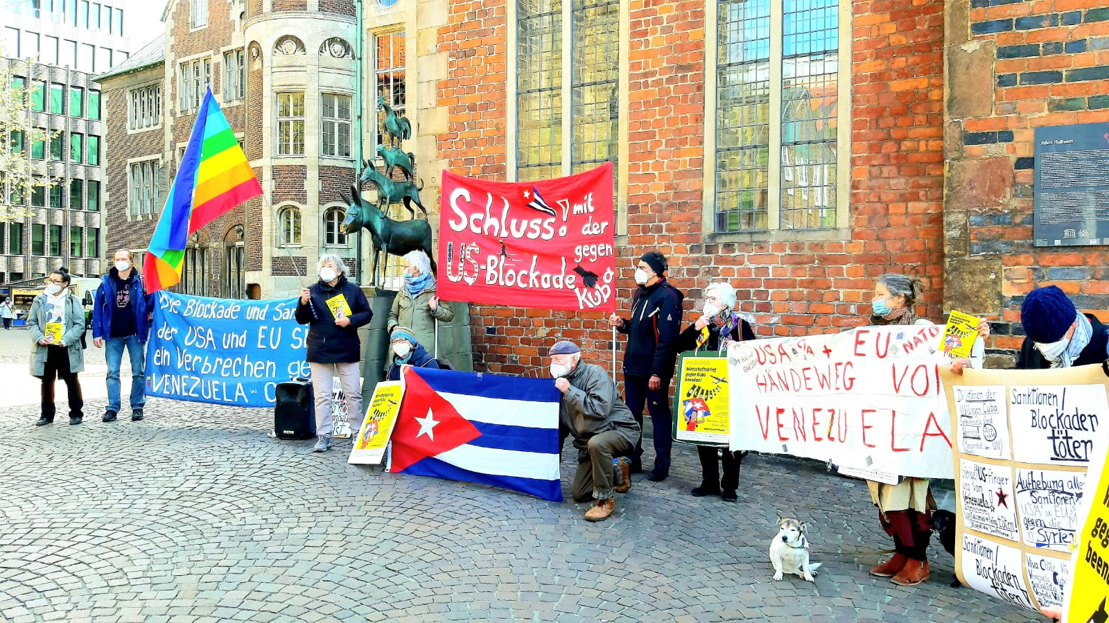 UnblockCuba-Aktion Bremen