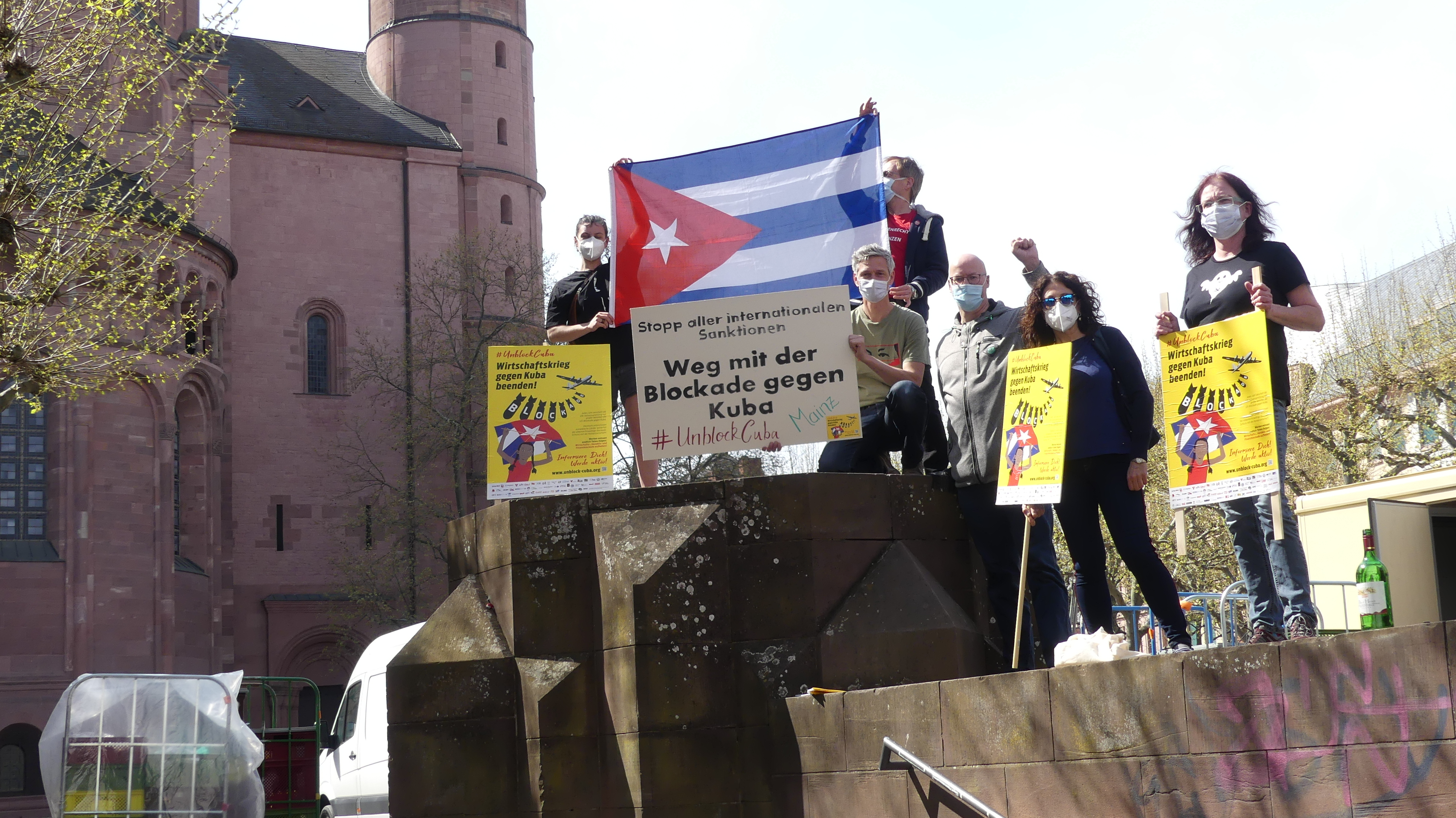 UnblockCuba-Aktion Mainz