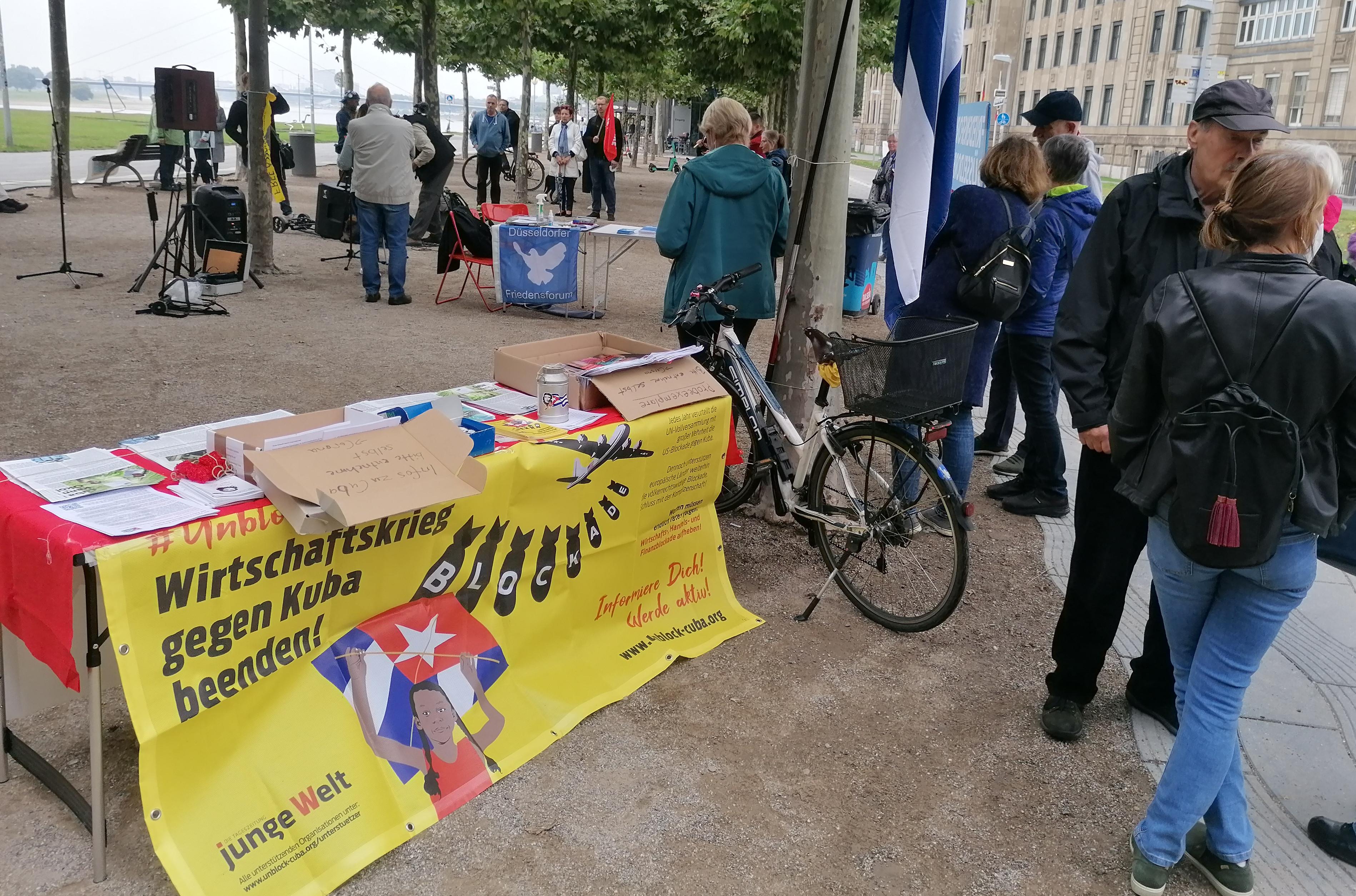 Antikriegstag 1.9.2021 in Düsseldorf