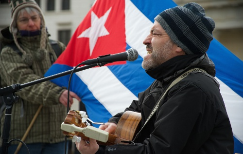 Aktionstag Cuban Five 2014 in Berlin