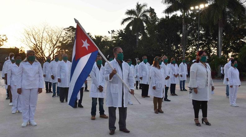 Kubanische Brigade reist nach Angola