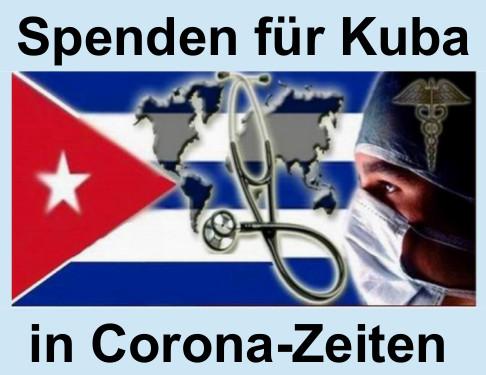 Spendenkampagne für Kuba zur Corona Pandemie