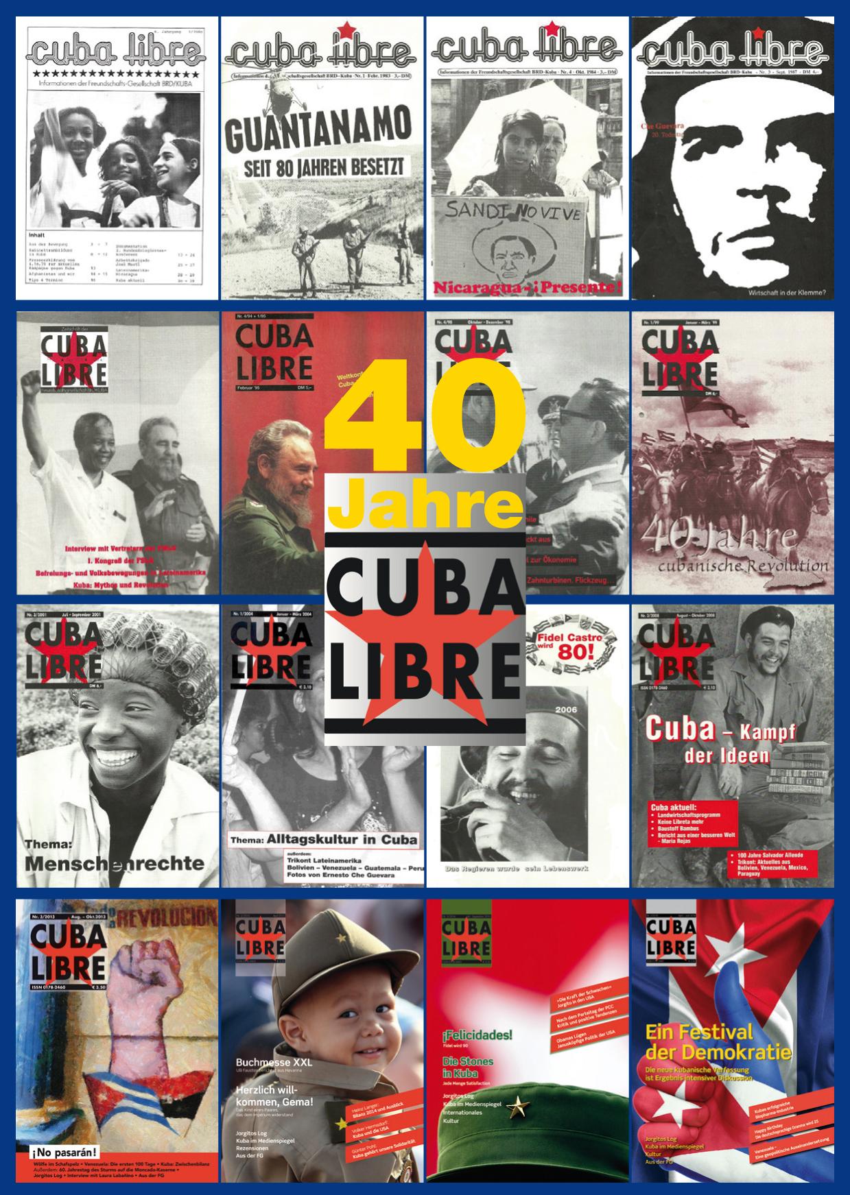 40 Jahre CUBA LIBRE