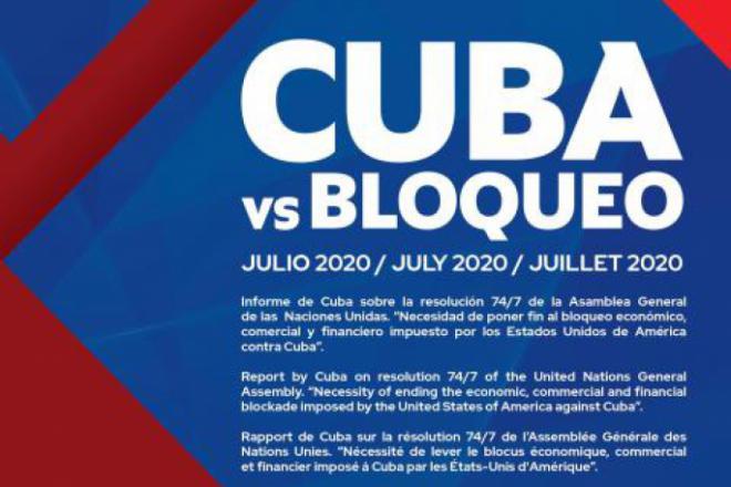 Cuba vs Bloqueo 2020
