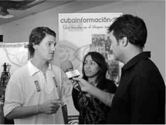 """Interview für """"Cubainformación"""""""