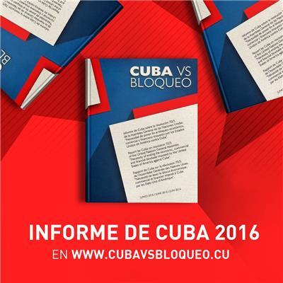 Bericht Kubas zur Blockade 2016