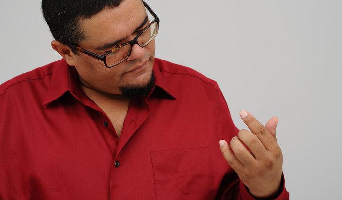 kubanischer Musiker Eduardo Sosa