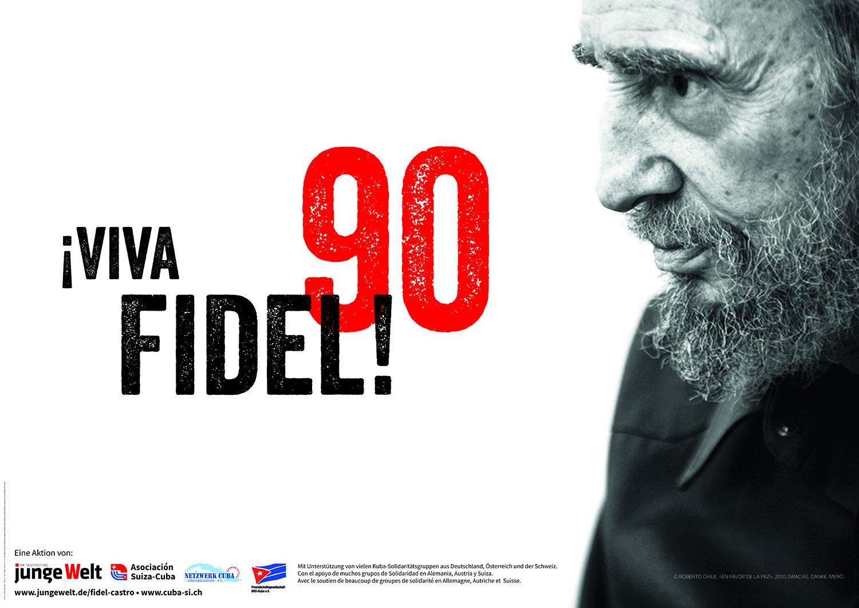 Fidel Castro zum 90. Geburtstag