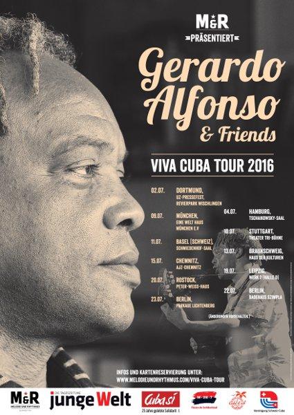 Gerardo Alfonso & friends - Viva Cuba Tour 2016