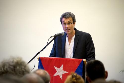 Güner Pohl, Vorsitzender der Freundschaftsgesellschaft BRD-Kuba