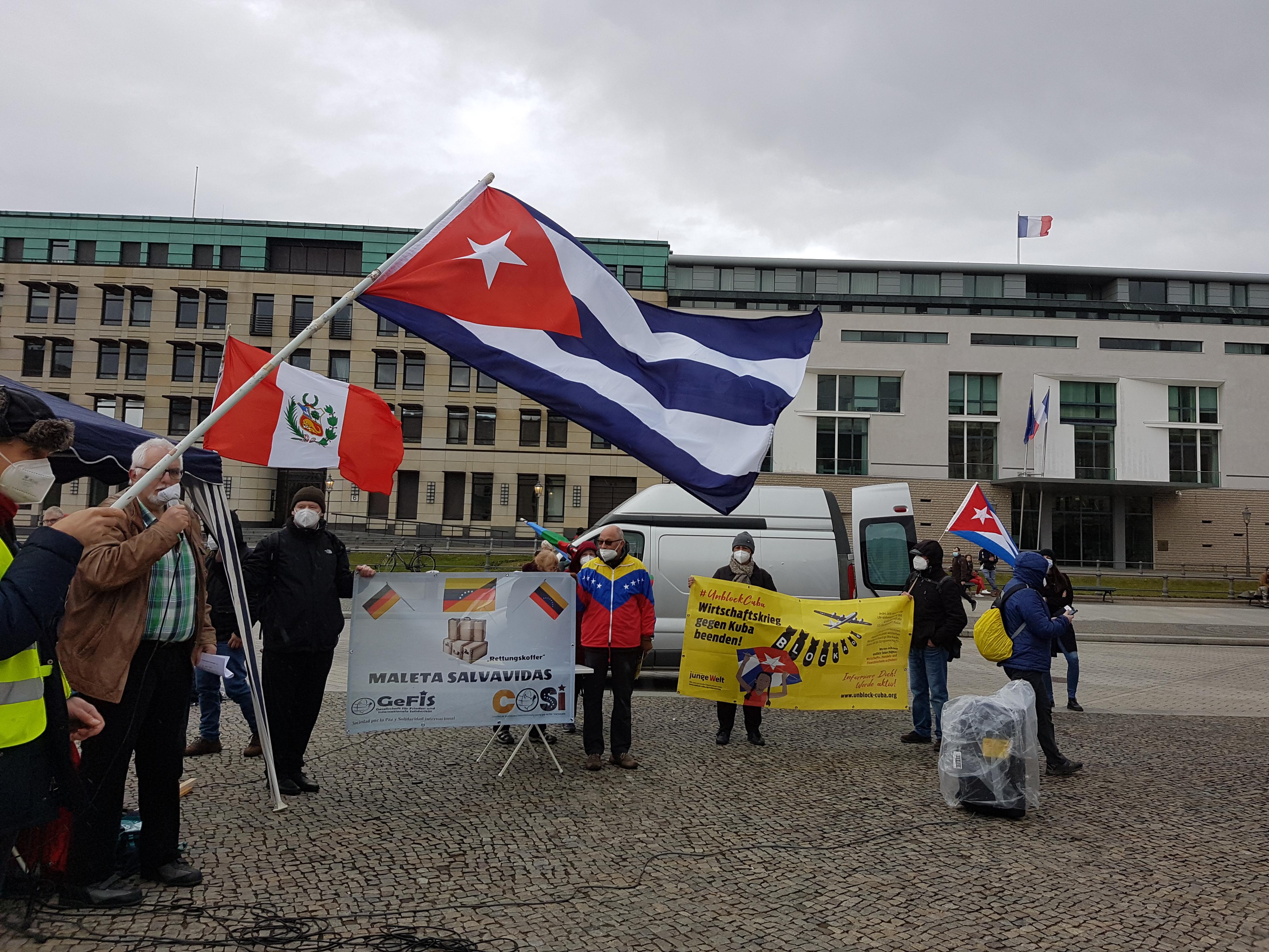 Karawane gegen die Blockade