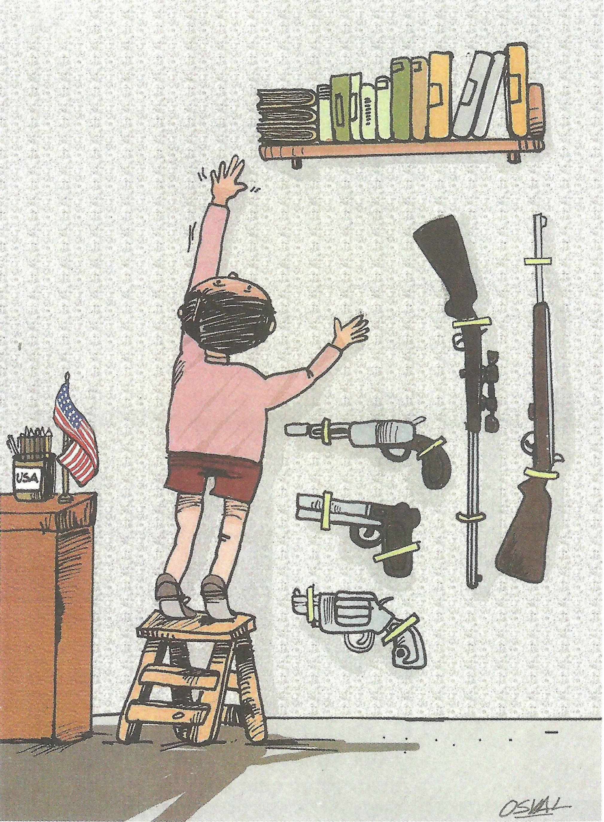 Osvaldo Gutiérrez Gomez: »Bücher und Gewehre«