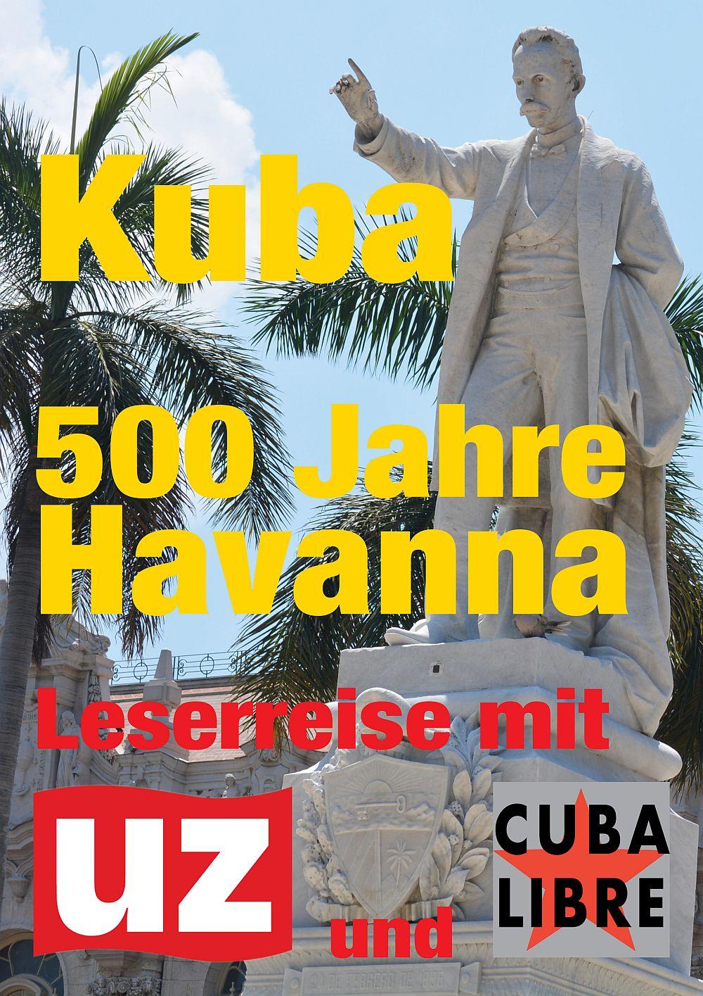 Leserreise 500 Jahre Havanna