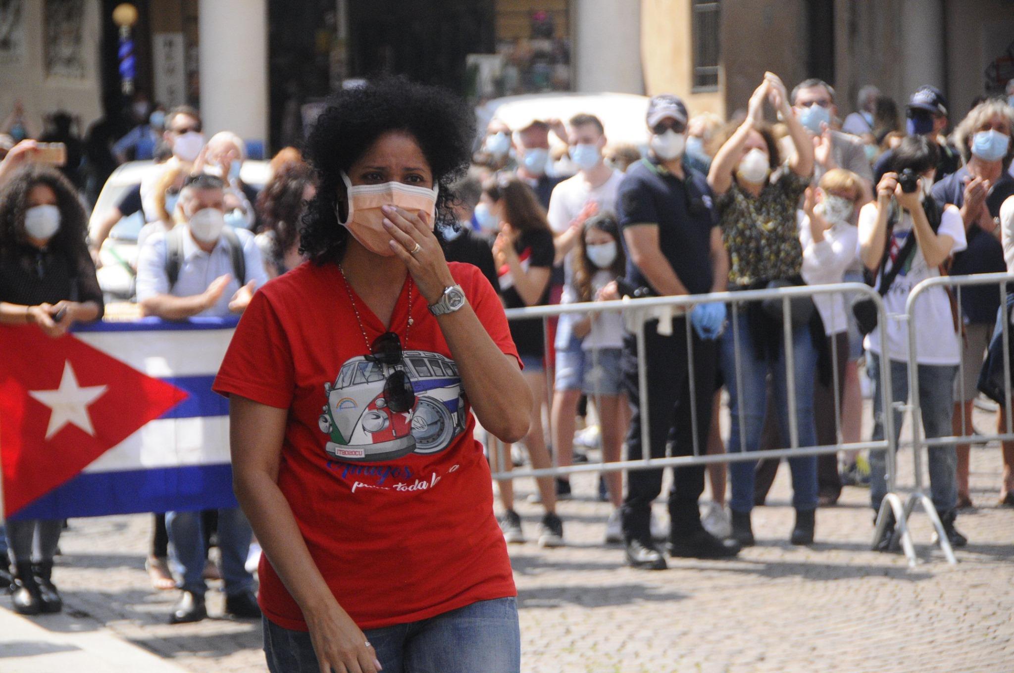 Ailed die kubanische Krankenschwester die seit 20 Jahren in Crema lebt