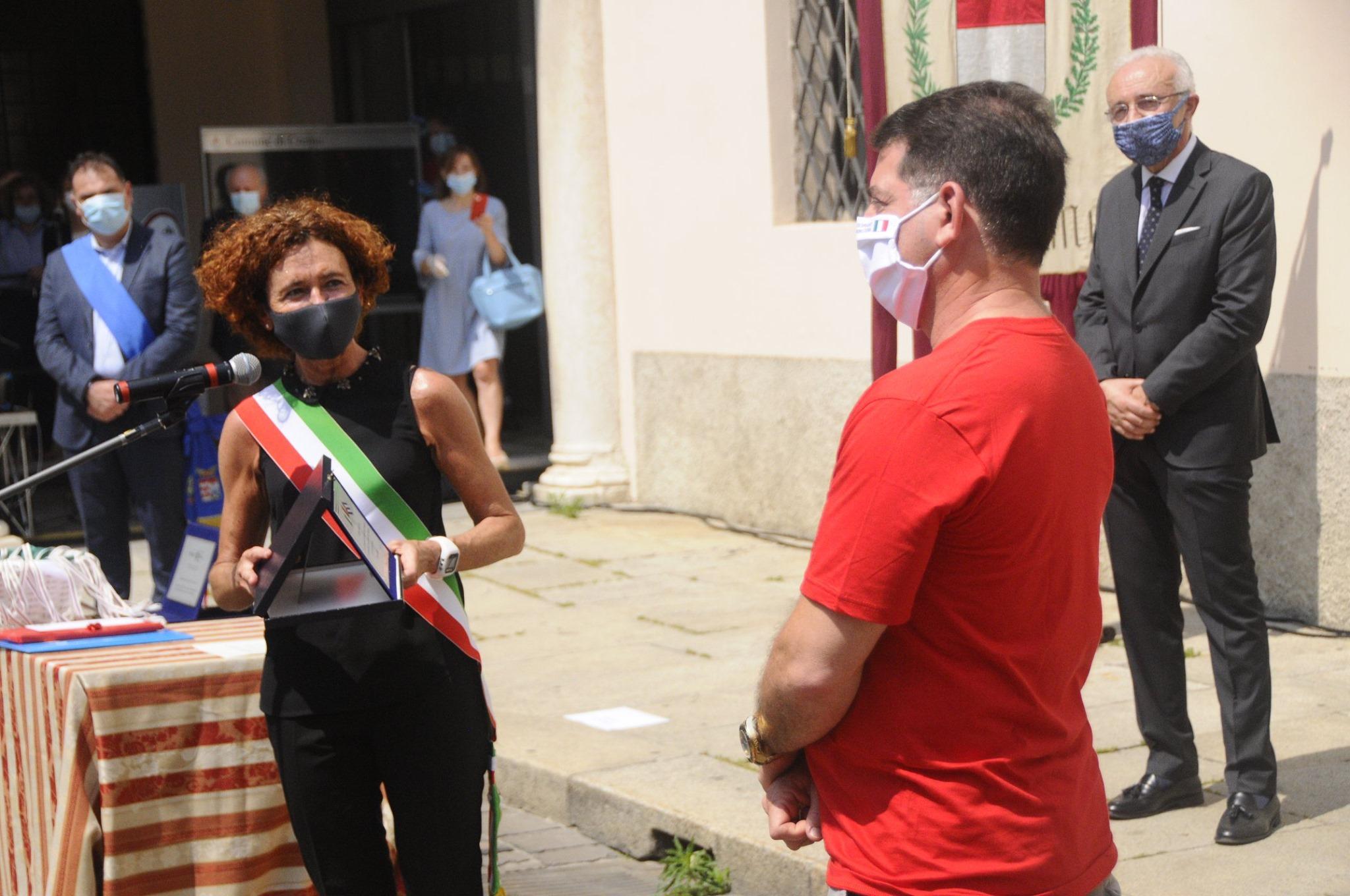Bürgermeisterin von Crema
