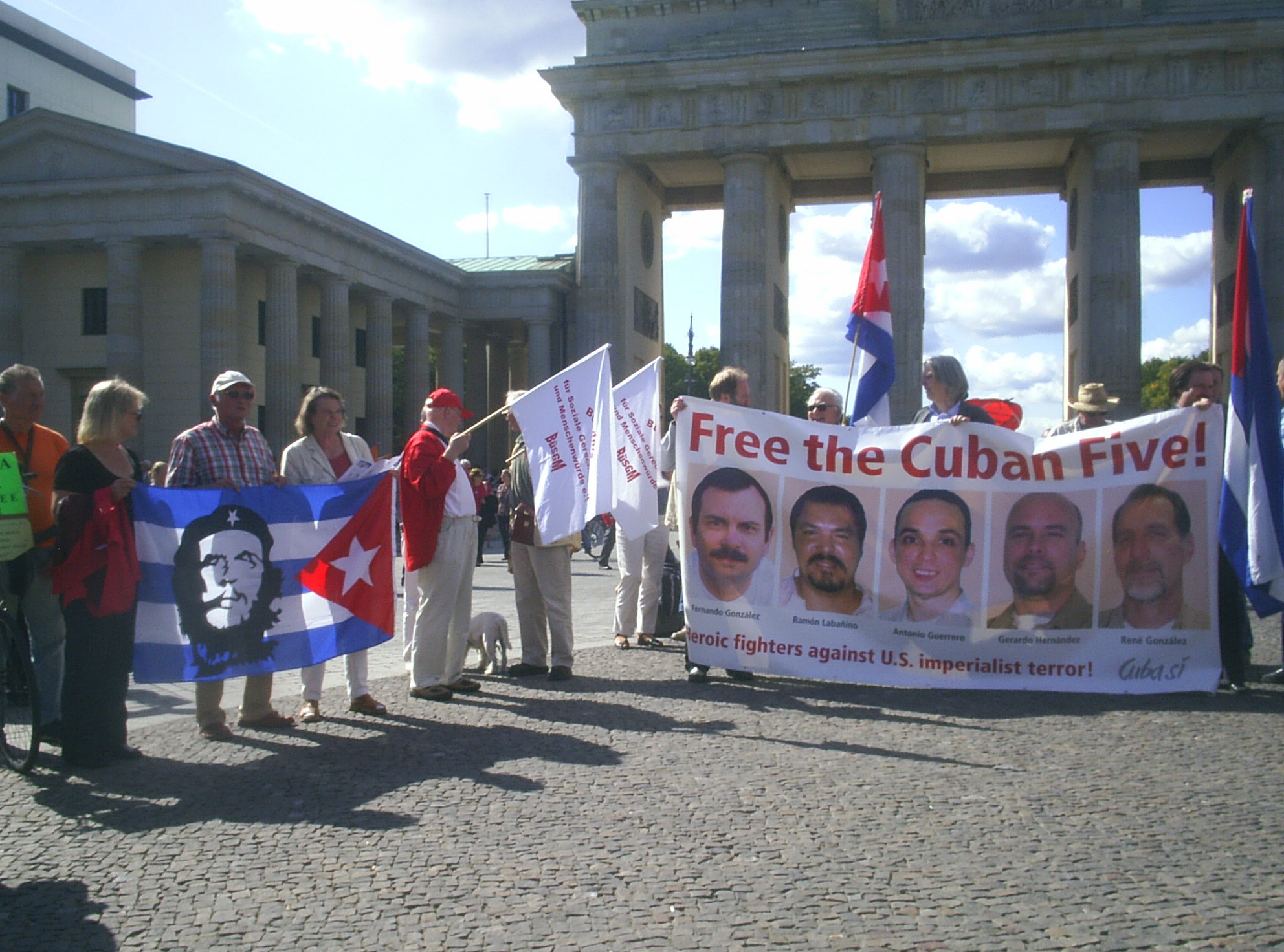 Aktionstag Free the Cuban Five- Berlin