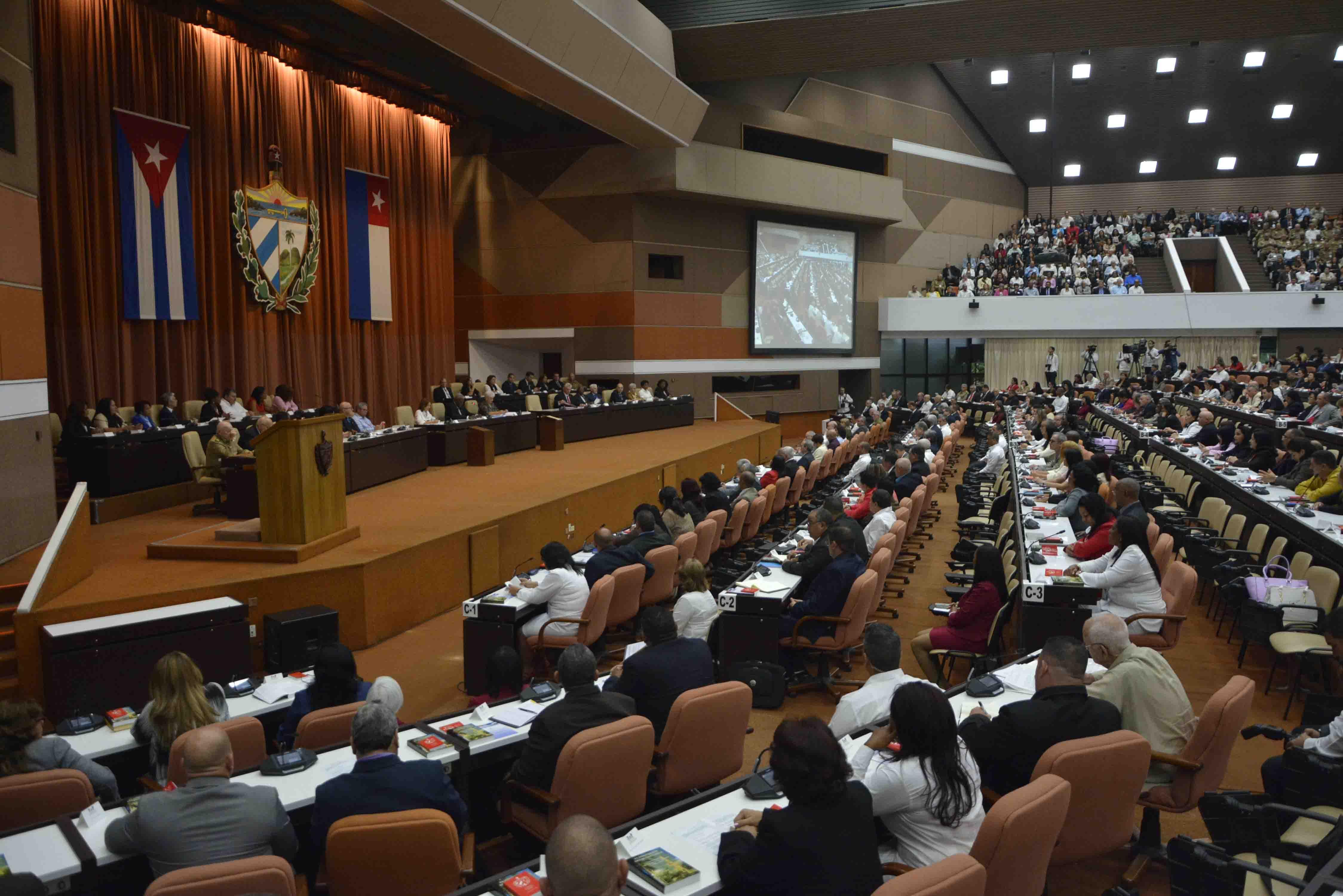 Nationalversammlung am 1. Jahrestag der neuen Verfassung