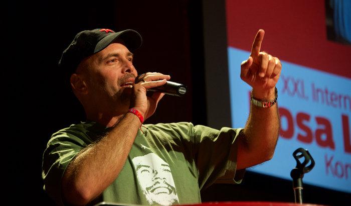Gerardo Hernández auf der Rosa-Luxemburg-Konferenz