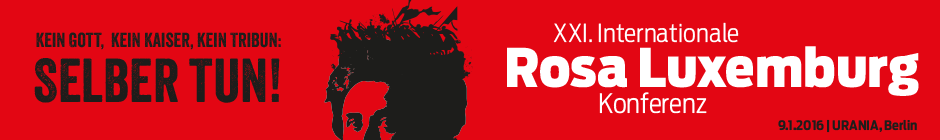 Rosa Luxemburg Konferenz 2016