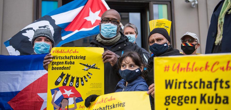 Die Solidarität mit Kuba ist unteilbar!