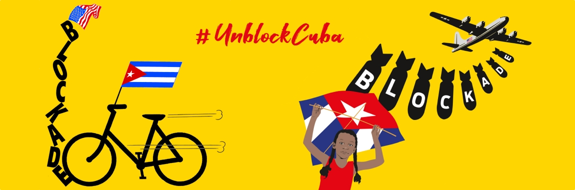 UnblockCuba Fahrrad-Demonstration