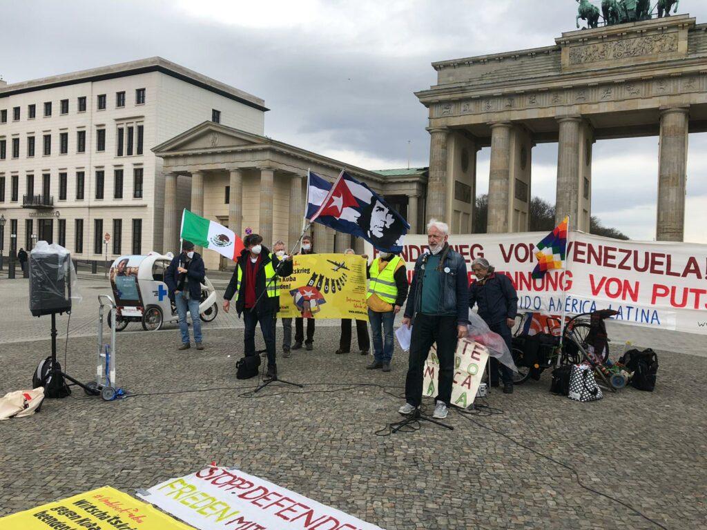 Auftakt zur UnblockCuba-Kampagne Berlin