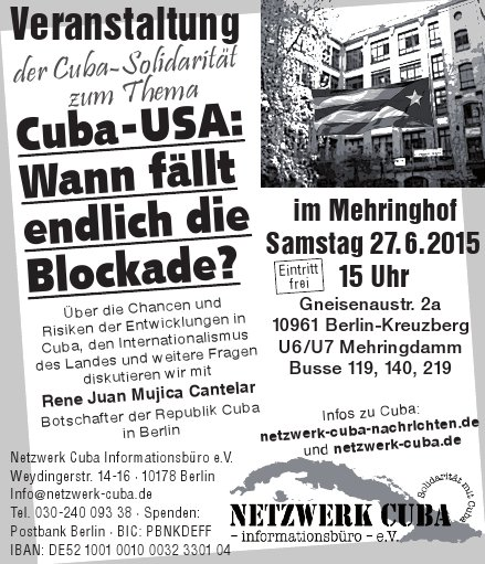 Cuba - USA: Wann fällt endlich die Blockade?
