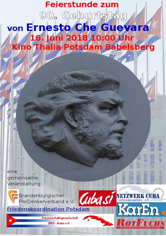 90. Geburtstag von Che Guevara, Potsdam
