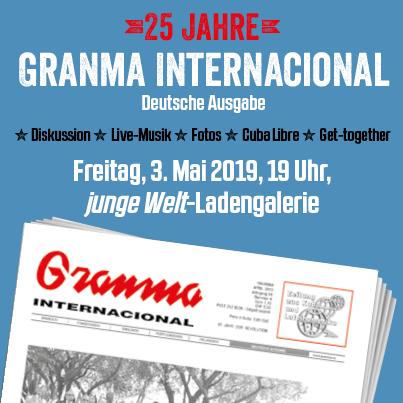 25 Jahre Granma Internacional, deutsche Ausgabe