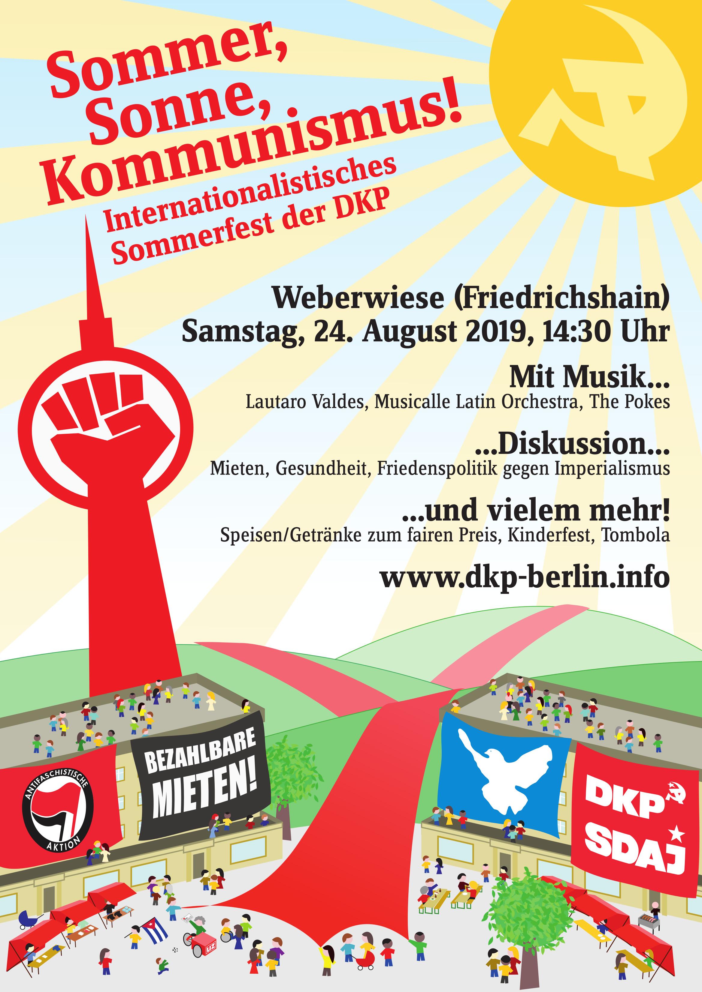 Internationalistisches DKP-Sommerfest
