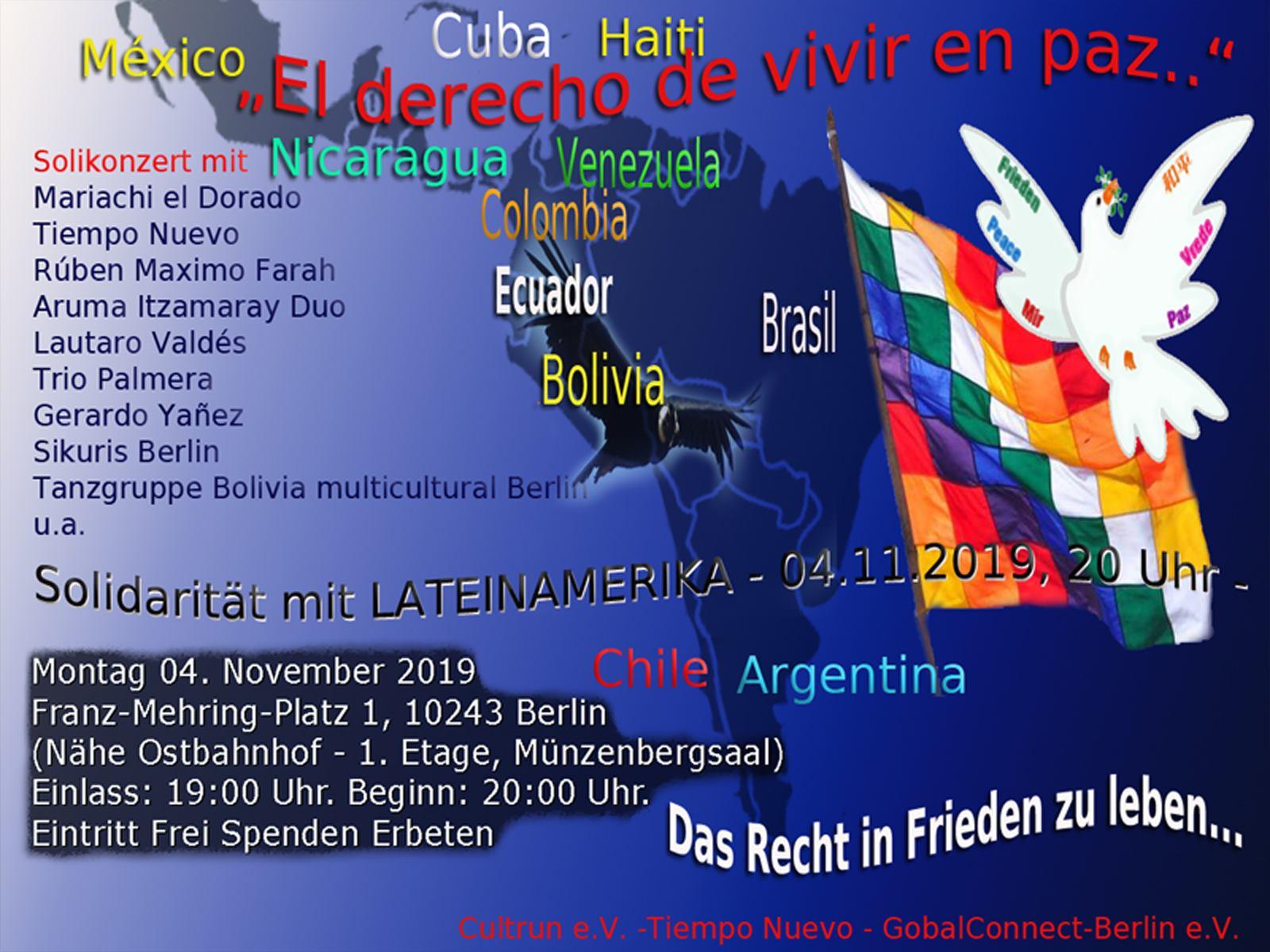 Solidarität mit Lateinamerika